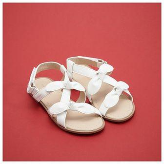 Reserved - Sandały na płaskiej podeszwie - Biały