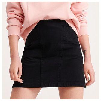 Reserved - Spódnica jeansowa - Czarny