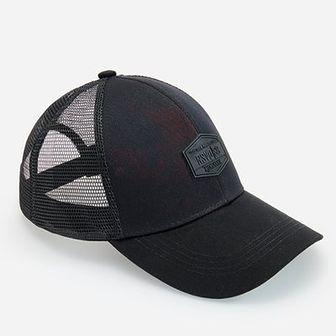 Reserved - Bawełniana czapka z daszkiem - Czerwony
