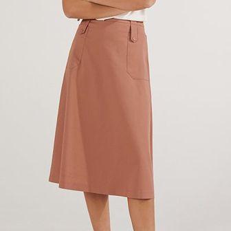 Reserved - Spódnica w kształcie litery A - Różowy