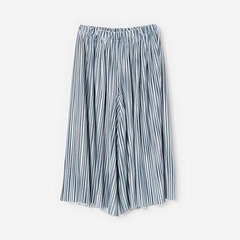 Reserved - Szerokie spodnie - Granatowy