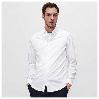 Reserved - Koszula z bawełny organicznej - Biały