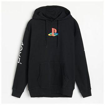 Reserved - Bluza z kapturem Playstation - Czarny