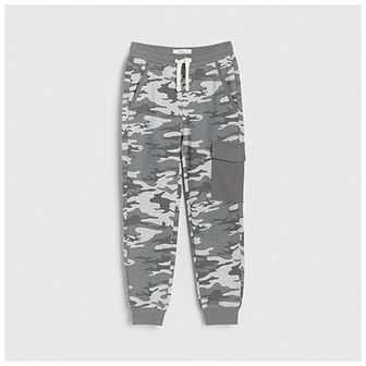 Reserved - Spodnie dresowe moro -