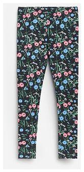Reserved - Bawełniane legginsy ze wzorem - Wielobarwny