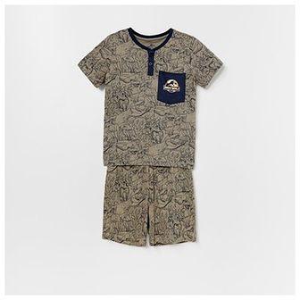 Reserved - Bawełniana piżama Jurassic Park -