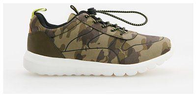 Reserved - Sneakersy moro - Khaki
