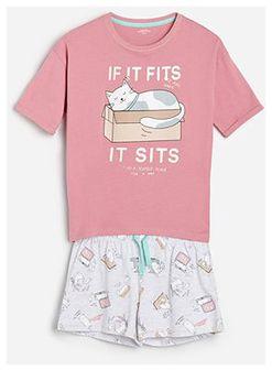 Reserved - Piżama z bawełny organicznej -