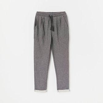Reserved - Spodnie w jodełkę - Szary