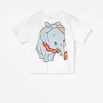 Reserved - Bawełniany t-shirt Dumbo -
