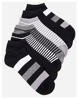 Reserved - Skarpety stopki z bawełną 7 pack - Szary