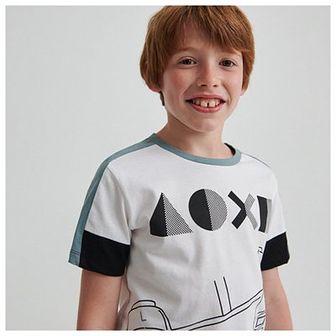 Reserved - Bawełniany t-shirt Play Station - Biały