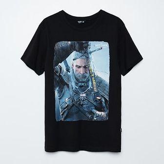 T-shirt z nadrukiem The Witcher