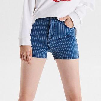 Jeansowe szorty High Waist