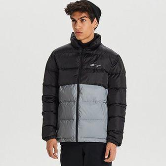 Odblaskowa kurtka z pikowaniem