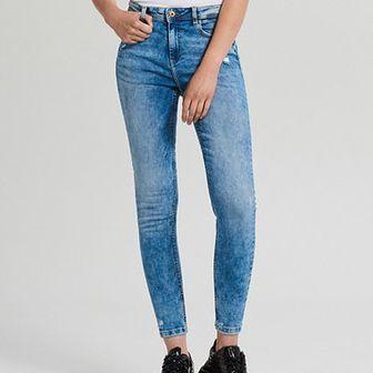 Jeansy skinny mid waist