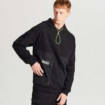 Bluza z łączonych materiałów kolekcja HAKOBO x CROPP