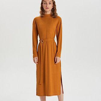 Sukienka midi w stylu retro