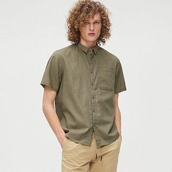Gładka bawełnianan koszula