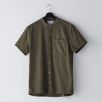 Jeansowa koszula z krótkim rękawem