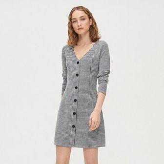 Sukienka w pepitkę