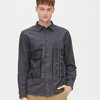Koszula comfort melanż