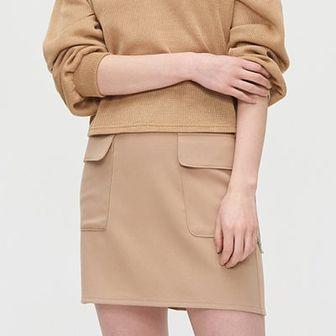 Spódnica mini z łańcuchem