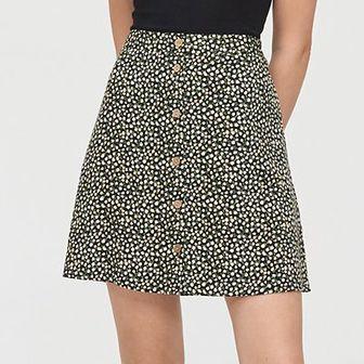 Spódnica mini z wiskozy