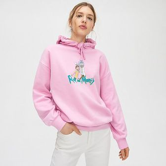 Bluza oversize Rick and Morty