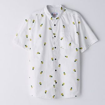 Koszula z nadrukiem w ananasy