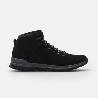Skórzane buty zimowe