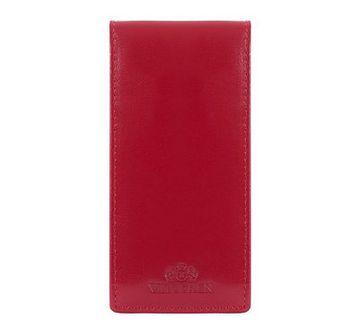 WITTCHEN Etui na karty kredytowe czerwony skóra licowa