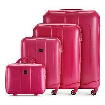 WITTCHEN Zestaw walizek różowy ABS