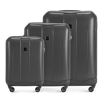 WITTCHEN Zestaw walizek szary ABS