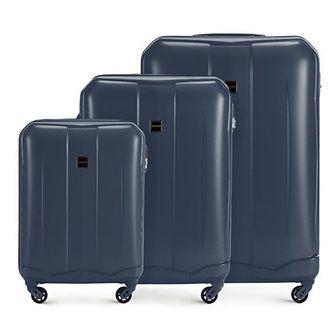 WITTCHEN Zestaw walizek granatowy ABS