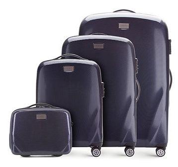 WITTCHEN Zestaw walizek granatowy policarbon