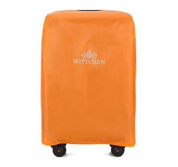 WITTCHEN Pokrowiec na walizkę małą pomarańczowy poliester