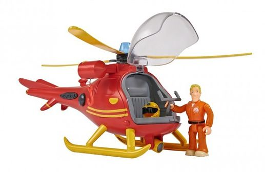 Simba, Strażak Sam, helikopter ratunkowy