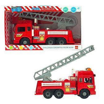 Smiki, Fire Truck, straż pożarna, światło i dźwięk, pojazd