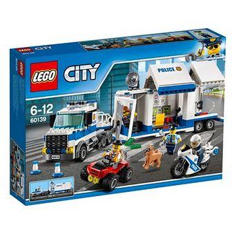 LEGO City, Mobilne centrum dowodzenia, 60139