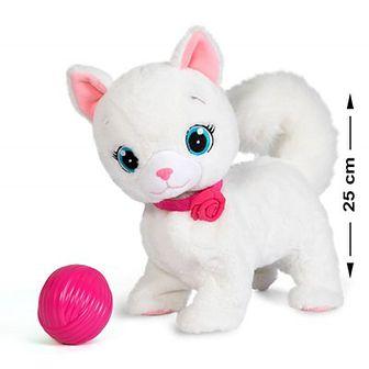 Kotek Bianca, zabawka interaktywna, 25 cm