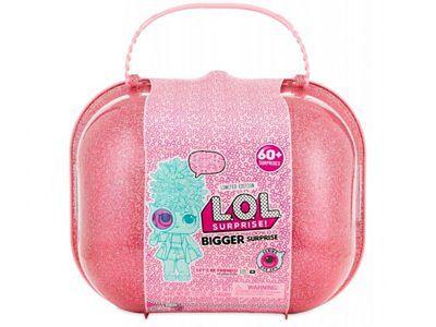 L.O.L. Surprise, Bigger Surprise, walizka 60 niespodzianek, zestaw