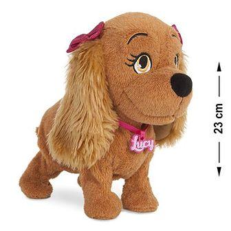 Piesek Lucy, zabawka interaktywna, 23 cm