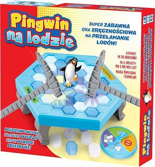 Lucrum Games, Pingwin na lodzie, gra familijna