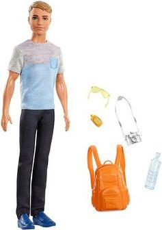 Barbie, Ken w podróży, lalka z akcesoriami