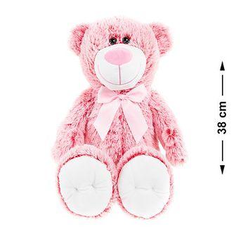 Smiki, Miś, maskotka, różowy, 38 cm