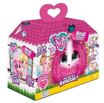 TM Toys, Fur Balls, My Real Rescue Pink, zabawka interaktywna
