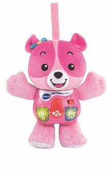 Vtech, Miś Przytulanka, zabawka interaktywna, różowy