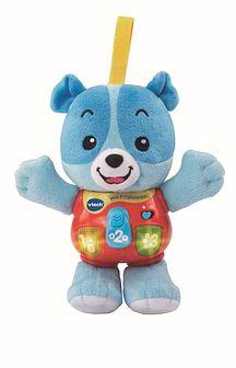 Vtech, Miś Przytulanka, zabawka interaktywna, niebieski