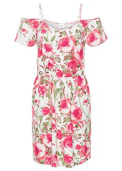 Sukienka letnia z dżerseju z wycięciami